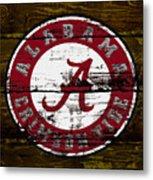 The Alabama Crimson Tide Metal Print