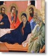 The Apostles Of Maria Fragment 1311  Metal Print
