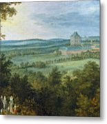 The Archdukes Hunting Metal Print