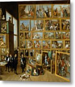 The Art Collection Of Archduke Leopold Wilhelm In Brussels Metal Print