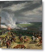 The Battle Of Valmy Metal Print