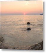 The Beautiful Istrian Coastline Metal Print