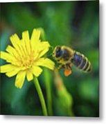 The Bee Metal Print