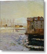 The Bridge Of Moret Metal Print