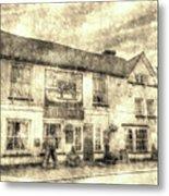 The Bull Pub Theydon Bois Vintage Metal Print