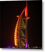 The Burj Al Arab Metal Print
