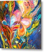 The Butterflies Metal Print