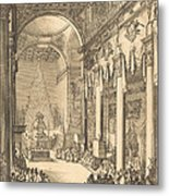 The Catafalque Of The Emperor Mathias Metal Print