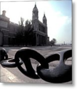 The Chain In Spain Metal Print