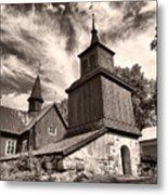The Church Of Fagervik Metal Print