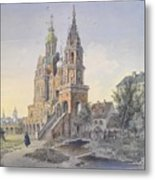 The Church Of The Dormition Metal Print