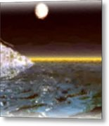 The Cold Calm Metal Print