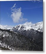 The Continental Divide Metal Print
