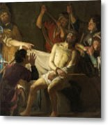 The Crowning With Thorns Of Jesus Metal Print