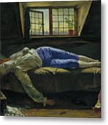 The Death Of Chatterton Metal Print