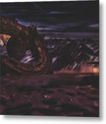 The Discovery Metal Print
