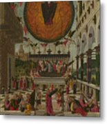 The Dormition And Assumption Of The Virgin Metal Print