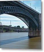The Eads Bridge Metal Print