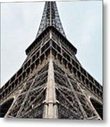 The Eiffel Tower In Paris Metal Print