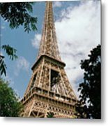 The Eiffel Tower, Paris Metal Print by Martin Diebel