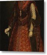 The Empress Isabel Of Portugal Metal Print