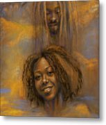 The Faces Of God Metal Print by Gary Williams