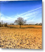 The Farm Tree Metal Print