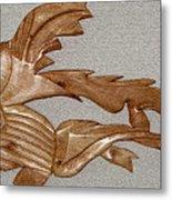 The Fish Skeleton Metal Print