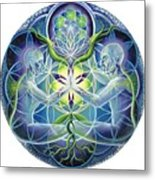 The Flowering Of Divine Unification Metal Print