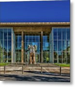 The Fort Worth Modern Art Museum Metal Print
