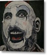 The Good Captain Metal Print