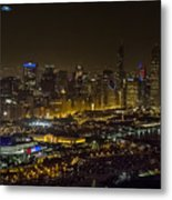 The Grateful Dead At Soldier Field Fare Thee Well Tour Aerial Photo Metal Print