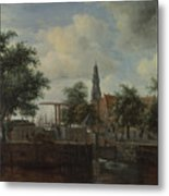 The Haarlem Lock Amsterdam Metal Print