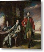 The Honorable Henry Fane With Inigo Jones And Charles Blair Metal Print
