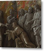 The Introduction Of The Cult Of Cybele At Rome Metal Print