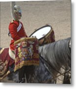 The Kettledrums Of Household Cavalry Metal Print