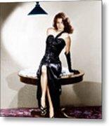 The Killers, Ava Gardner, 1946 Metal Print