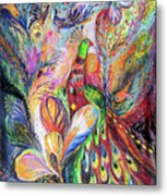 The King Bird Metal Print by Elena Kotliarker