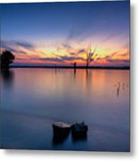 The Lakeside Metal Print