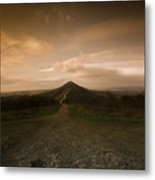 The Malvern Hills Metal Print