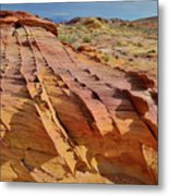 The Many Colors Of Valley Of Fire Metal Print