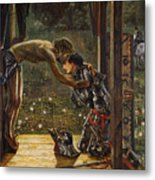 The Merciful Knight Metal Print