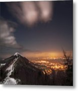 The Midnight On Malvern Hills Metal Print