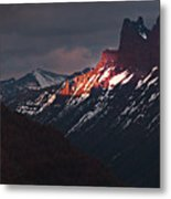 The Moment Before Dark Metal Print