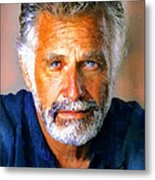 The Most Interesting Man In The World Metal Print by Debora Cardaci