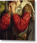 The Mourning Mary Magdalene Metal Print