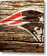 The New England Patriots 3a Metal Print