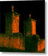 The Old City Gates Metal Print