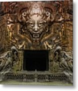 The Old Entrance To The Mountain  Metal Print