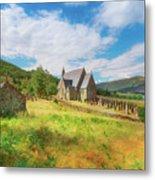 The Old Highland Church Metal Print